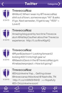 Trevecca Nazarene University- screenshot thumbnail