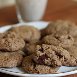 Chocolate Almond Butter Cookies.