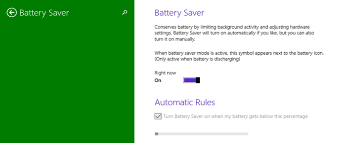 Battery Saver (Mode=ON) in Windows 10 PC Settings (www.kunal-chowdhury.com)