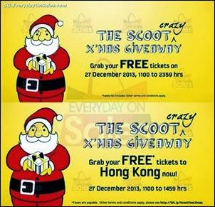 075c19ff98f6d3 27 Dec 2013  Scoot FREE Air Tickets Promotion