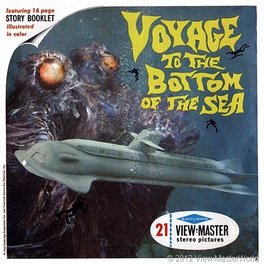 View-Master Voyage to the Bottom of the Sea (B483), packet cover