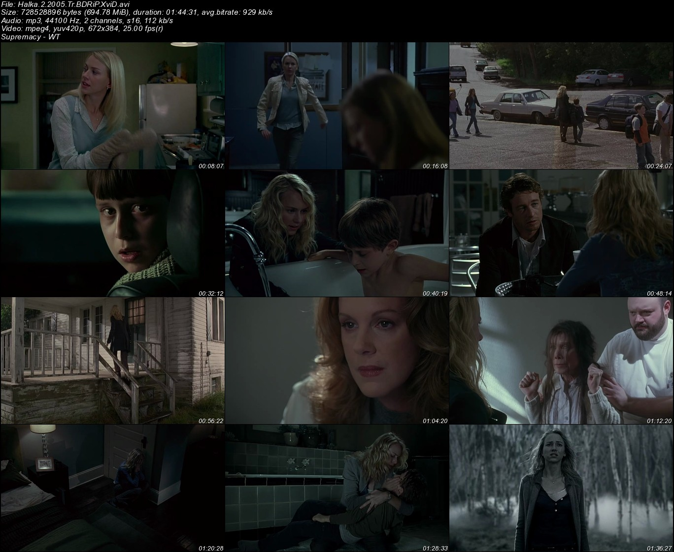 Halka 2 (The Ring 2) - 2005 Türkçe Dublaj BDRip indir