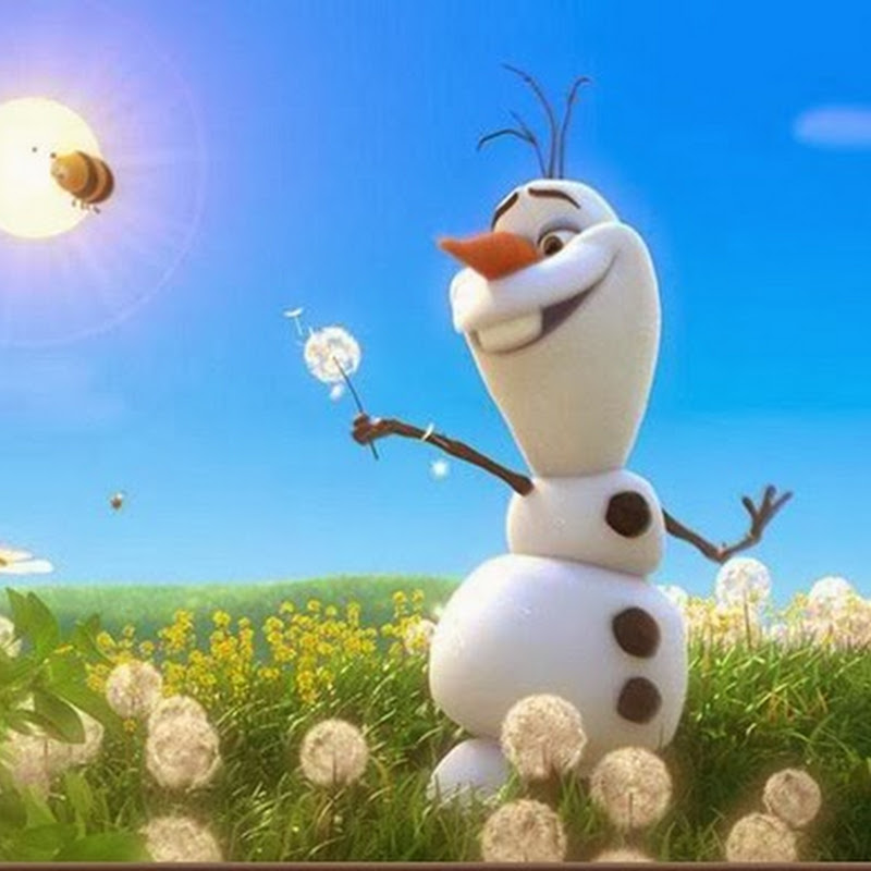 "Meet Olaf, the Adorable Snowman in ""Frozen"" (Opens Nov 27)"