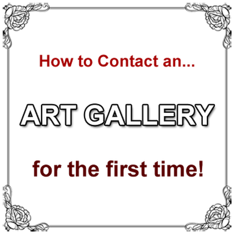 How to Contact an Art Gallery for the First Time