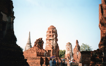 Obiective turistice: Ayutthaya