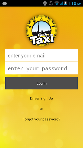Smart Taxi - Driver end