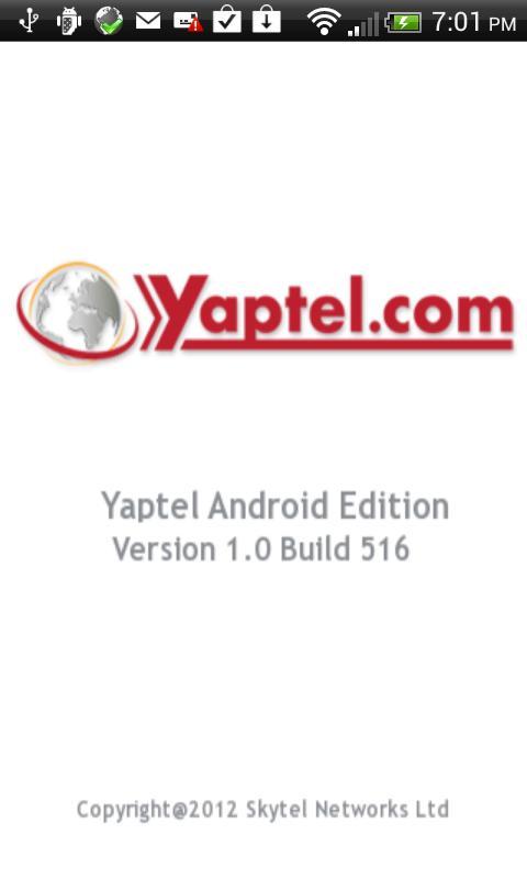 Yaptel- screenshot