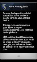 Screenshot of Amazing Earth