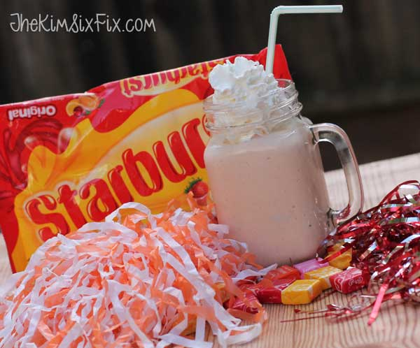 Orange Starburst Creamsicle Milkshake