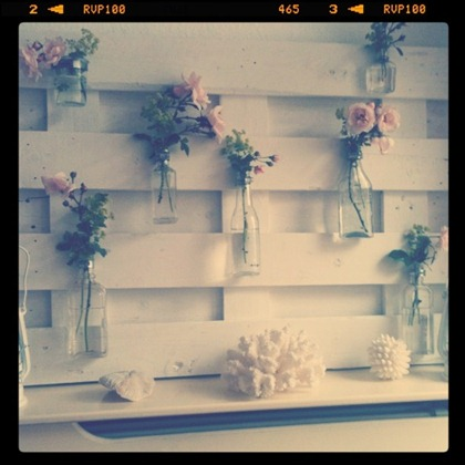Summer Mantel with Roses 7