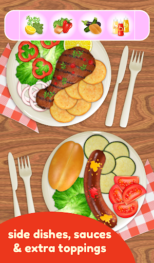 BBQ Grill Maker - Cooking Game  screenshots 16