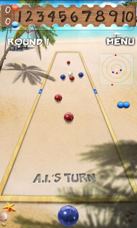 Bocce- screenshot