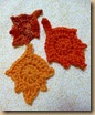 leaves crochet