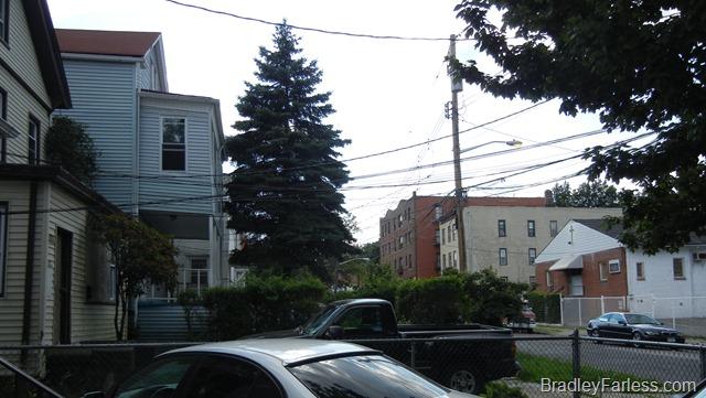A neighborhood in the Bronx.