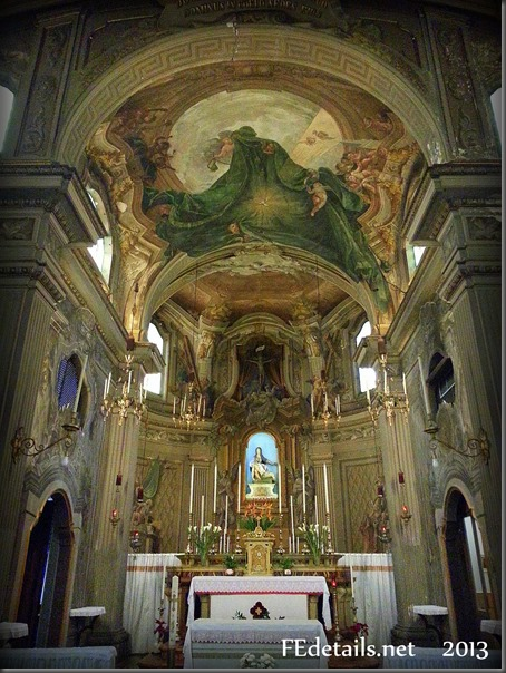Chiesa di Santa Maria del Suffragio, Foto1, Ferrara, Emilia Romagna, Italia - Church of Santa Maria del Suffrage, Photo1, Ferrara, Emilia Romagna, Italy - Property and copyrighta of FEdetails.net