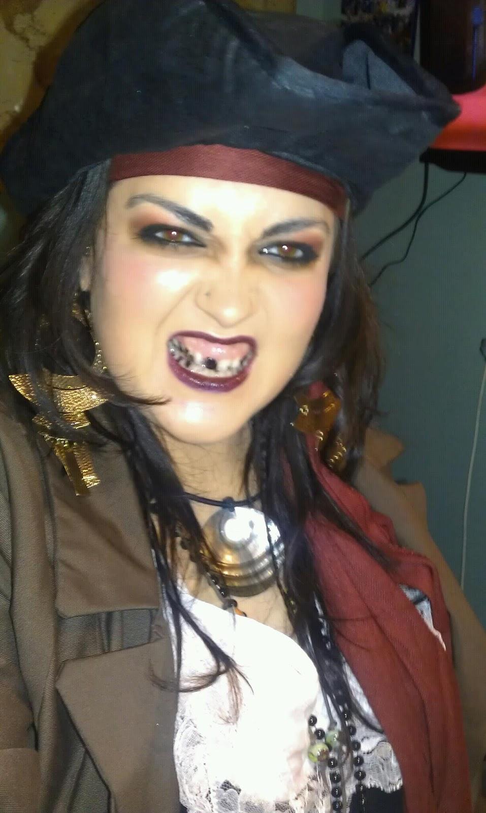 Mugeek Vidalondon: How To Do Female Pirate Makeup