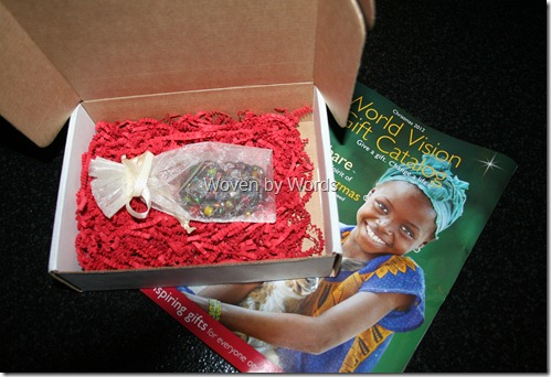 World Vision Necklace & Catalog