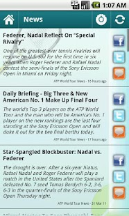 Sports Eye - Tennis (Lite) - screenshot thumbnail