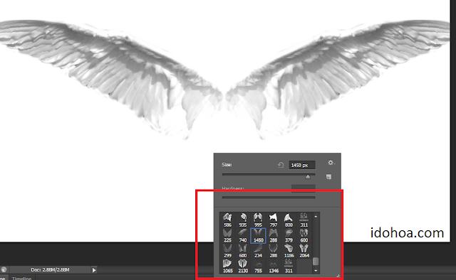 Brush Angel cho Photoshop