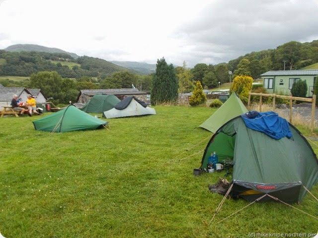 dolgellau camp - the ddddofe teams assemble