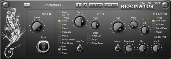 resonater effect plugin