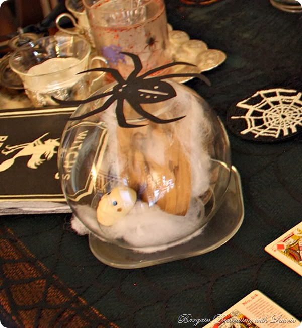 crystal ball H'ween Decor-Bargain Decorating with Laurie