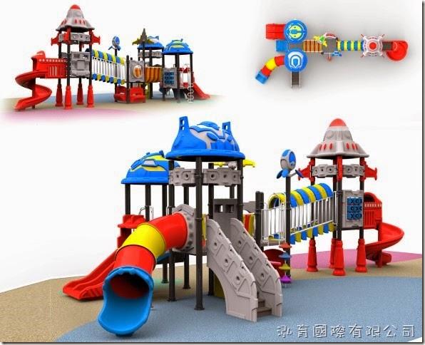 BabyBuild 兒童遊樂器材設計