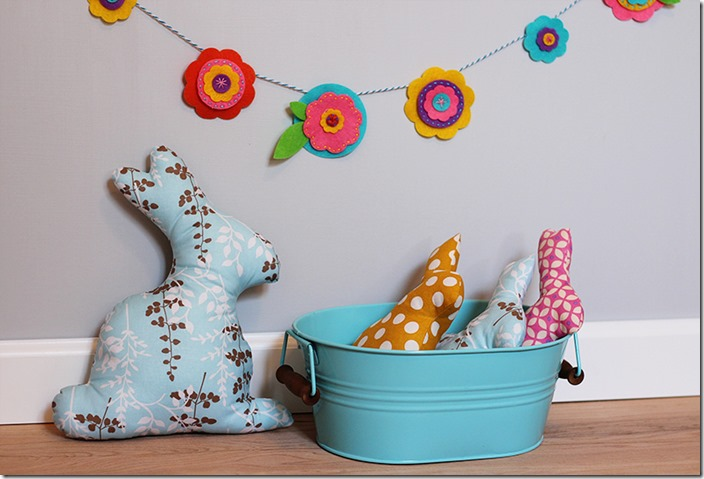 Easter Bunny Softies by The Crafty Cupboard