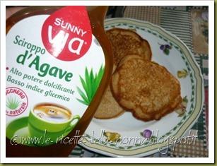 Pancakes ai quattro cereali con latte di soia, zucchero di canna e sciroppo d'agave (9)