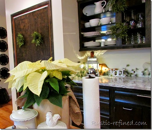 Kitchen Christmas Decor - Christmas Holiday Decorating