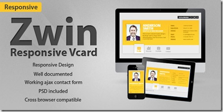 Zwin-Responsive-Vcard-Template