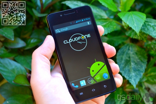 Cloudfone Excite 400d Review