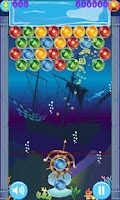 Screenshot of (HD) Ocean Bubble Shooter