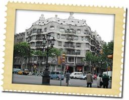 Fotografia della CasaMilà di Antoni Gaudì