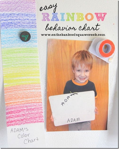preschool behavior chart