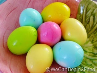 Coloring the Insides of Easter Eggs