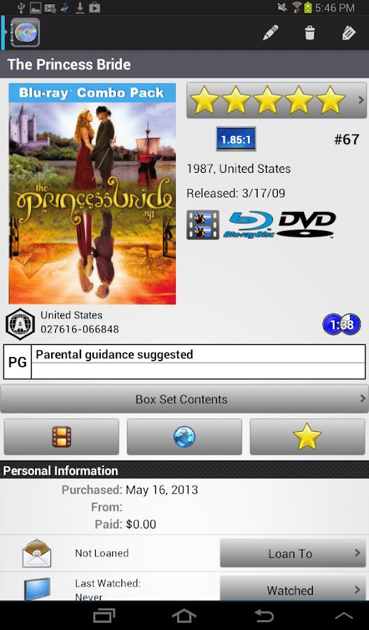 DVD Profiler - screenshot