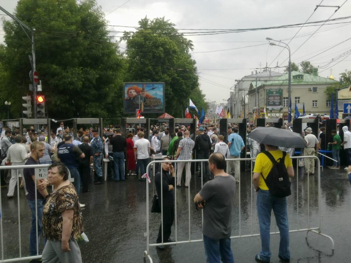 Москва. Марш миллионов. 12-15