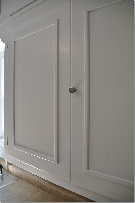 How To Put Molding On Kitchen Cabinet Doors Www