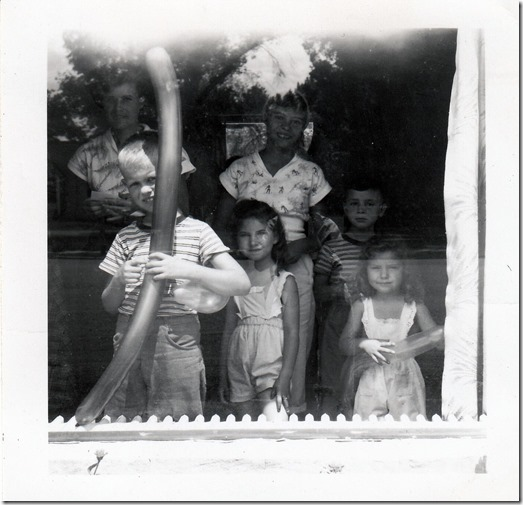Debs Webster Family in Utah 1952