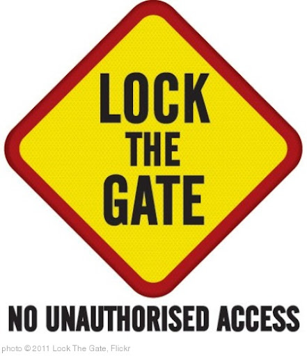 'Lock The Gate Master Brand' photo (c) 2011, Lock The Gate - license: http://creativecommons.org/licenses/by/2.0/