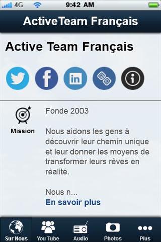 Active Team Francais