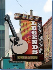 9666 Nashville, Tennessee - Discover Nashville Tour - downtown Nashville Broadway Street - Legends Corner