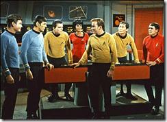 Todos os personagens do alto comando da Enterprise