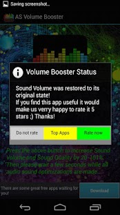 AS Volume Booster PRO - screenshot thumbnail