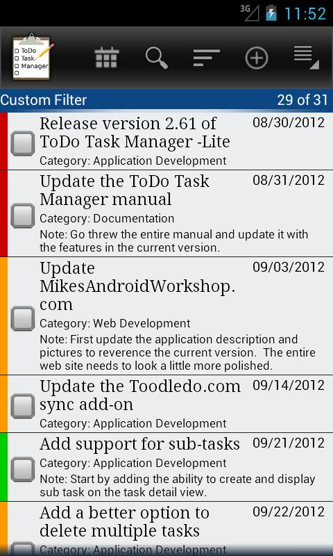 ToDo List Task Manager -Lite- screenshot
