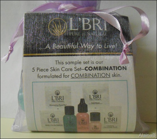 L'bri Pure and Natural Skincare sampler