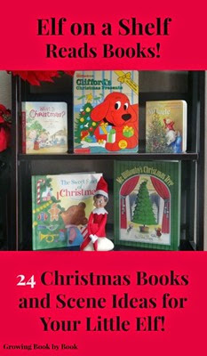 Elf on a Shelf 24 Book Ideas