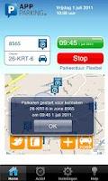 Screenshot of App-Parking