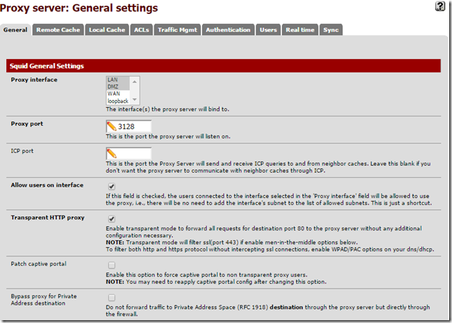 Setup Squid Guard (Proxy Server) on Pfsense - My Tech Website